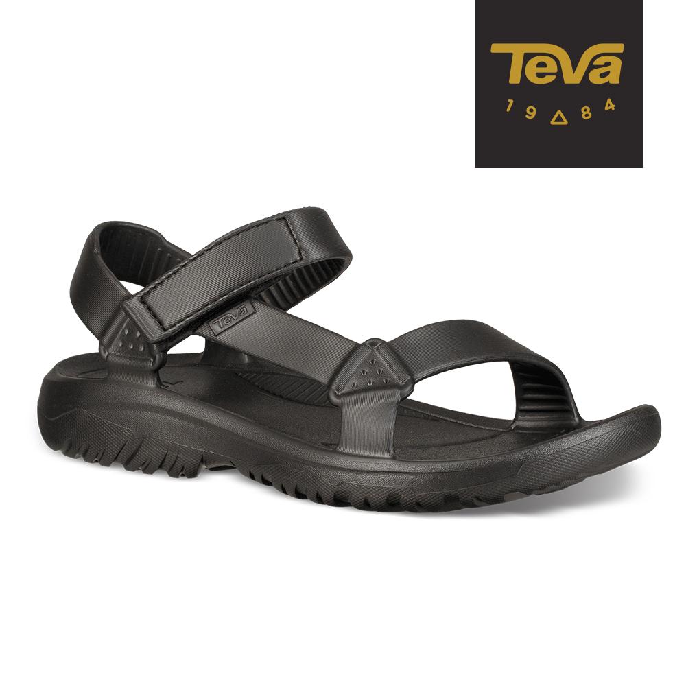 【TEVA】原廠貨 男 Hurricane Drift 水陸輕量涼鞋/雨鞋/水鞋(黑-TV1100270BLK)