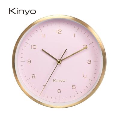 KINYO三合一桌掛鬧鐘(粉)ACK7112PI