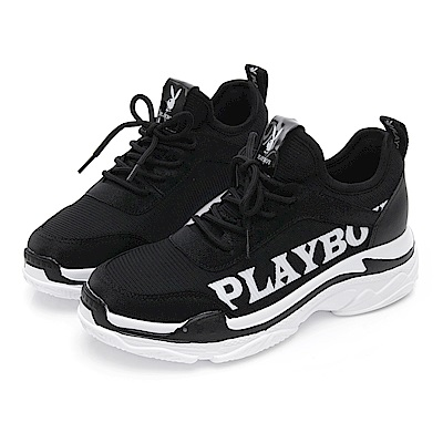 PLAYBOY SPIRIT兔兔老爹鞋-黑-Y5277CC