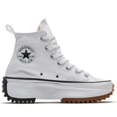 CONVERSE RUN STAR HIKE HI 高筒 厚底 休閒鞋 女 白-166799C
