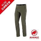 【Mammut】Yadkin SO 長褲 綠鬣蜥 男款 #1021-00161