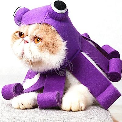 DogLemi》寵物萌寵萌貓變身章魚帽(頸圍:25-34cm)
