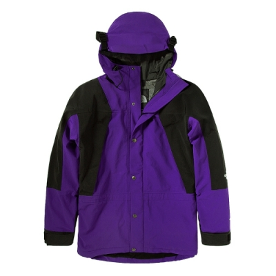 The North Face 經典ICON 男女防水透氣連帽衝鋒衣 紫-NF0A4R52NL4