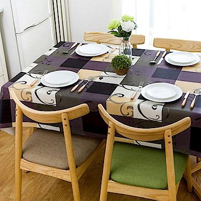 媽媽咪呀 複合材質防水防油汙餐桌墊/野餐墊-華麗年代137*180cm