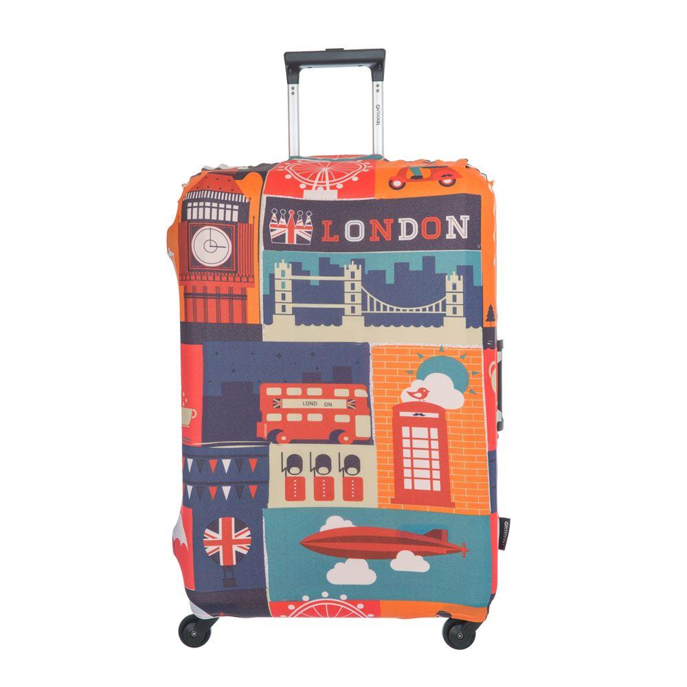行李箱防護套-英倫-L ODS17B02LEN