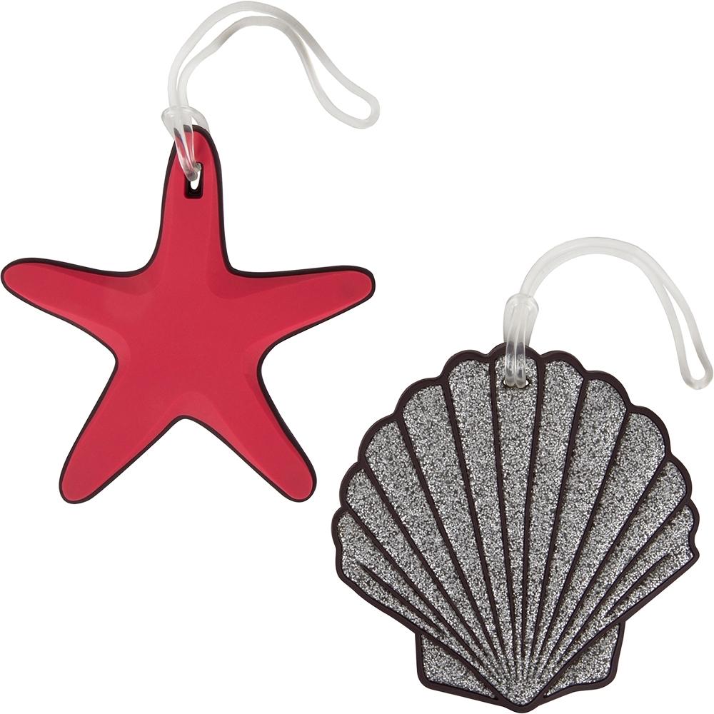 《TRAVELON》彈性行李掛牌2件(貝殼海星)