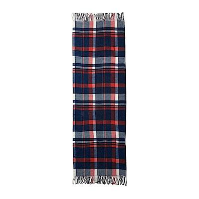 Sport b. 英倫風格紋圍巾