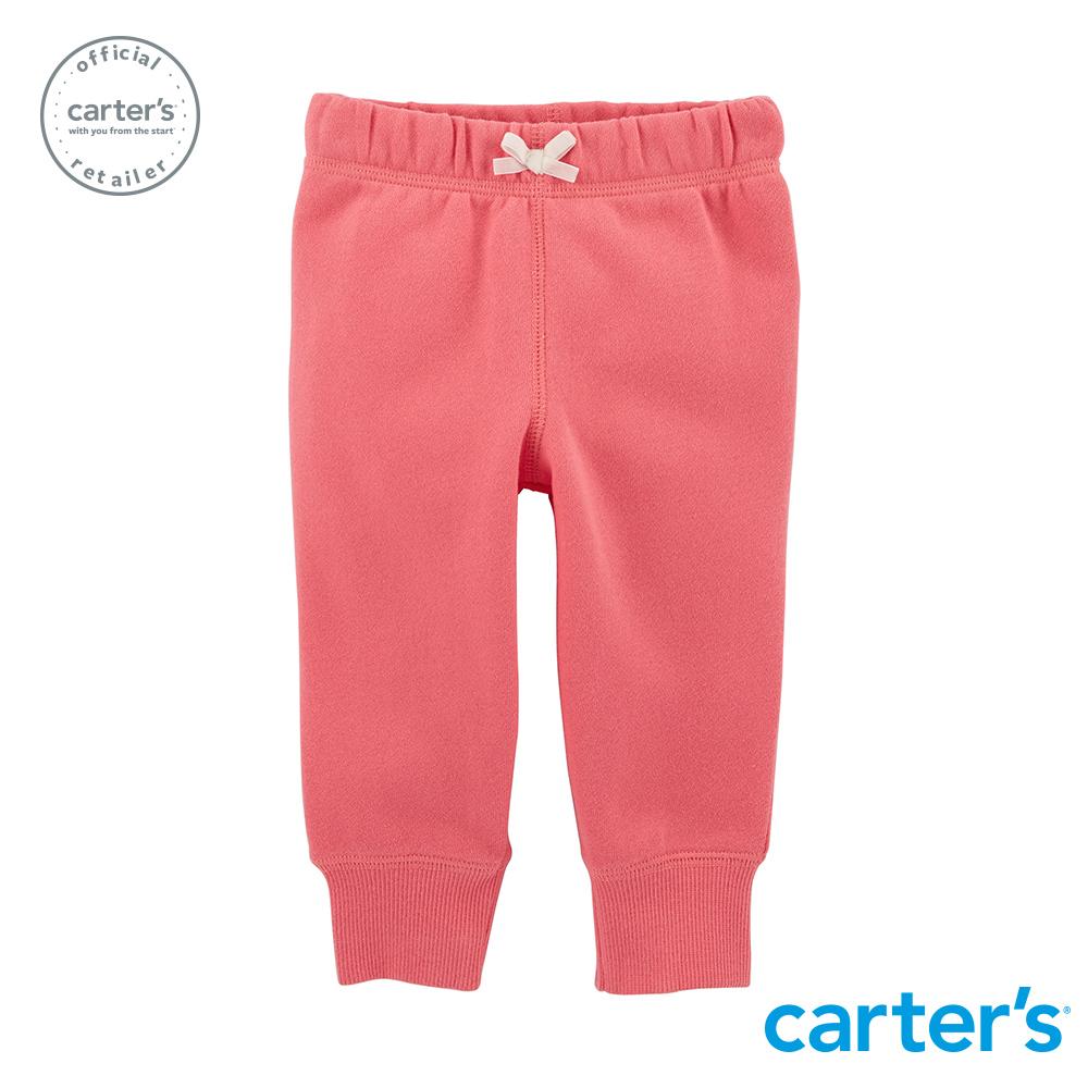 【Carter's】 經典粉色素面長褲 (台灣總代理)