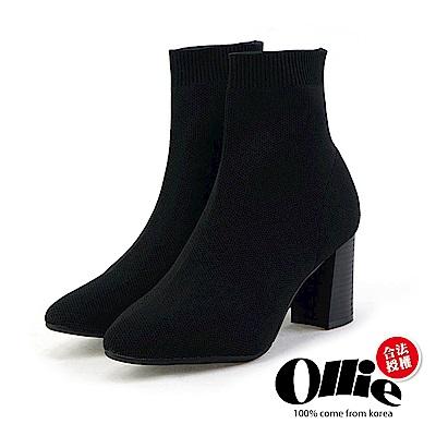Aviator韓國空運-貴族氣息質感高跟靴-ollie預購