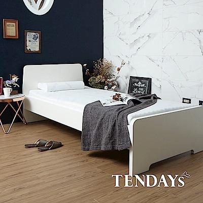 TENDAYS DISCOVERY 柔眠床墊(晨曦白) 3尺標準單人 5.5cm厚