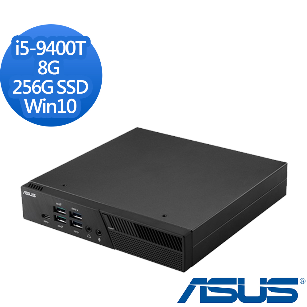 ASUS 華碩 PB60-94TU2TA i5-9400T六核心/8G/256G SSD/Win10 迷你電腦
