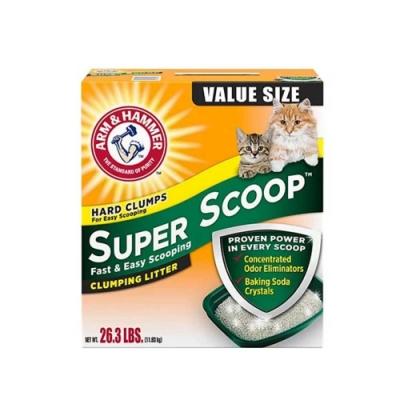 Super Scoop鐵鎚 超強凝結清香貓砂26.3LB(11.93KG)