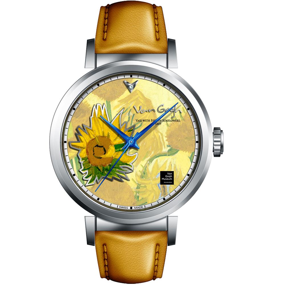 梵谷Van Gogh Swiss Watch梵谷經典名畫女錶(I-SLLV-01)