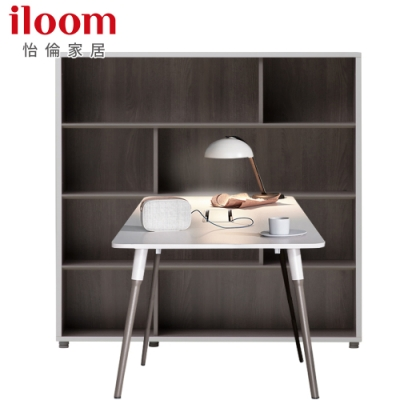 【iloom 怡倫家居】Libre 1200型基本型書桌+1200型4層書櫃