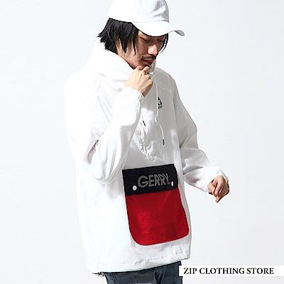 聯名款套頭連帽外套(5色) ZIP日本男裝