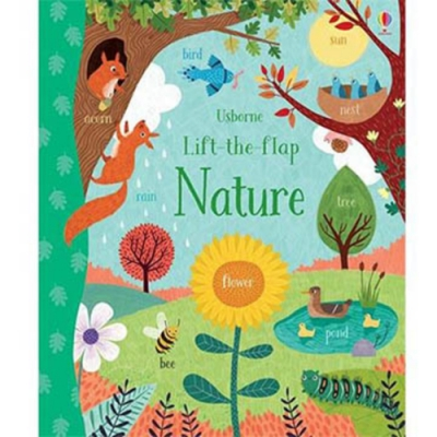 Lift-The-Flap:Nature 大自然知識翻翻學習書