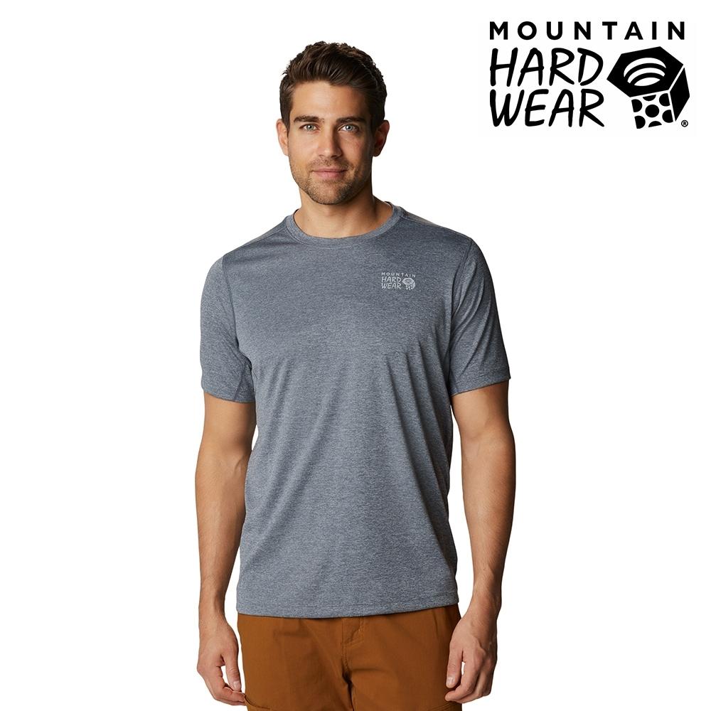 【美國 Mountain Hardwear】Wicked Tech Short Sleeve T 防曬快乾短袖排汗衣 男款 石墨灰 #1934291