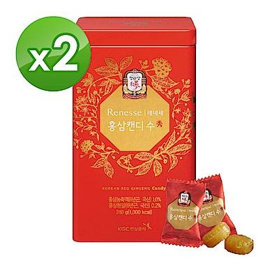 品牌週最高回饋26%【正官庄】高麗蔘糖240g*2盒
