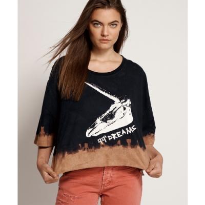 ONETEASPOON WW 99C DREAMS TIE DYE CROP T恤-(女)