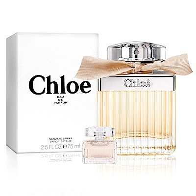 Chloe克羅埃 同名女性淡香精75ml-Tester(贈品牌小香)