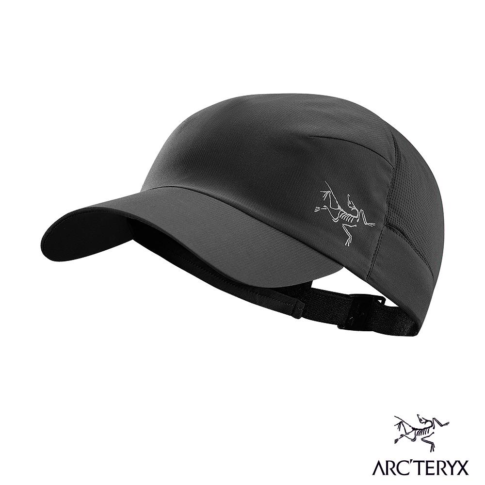 Arcteryx 始祖鳥 透氣遮陽帽 黑