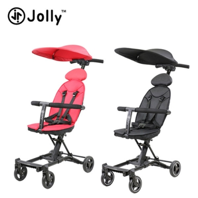 (回饋5%超贈點)【英國Jolly】輕便摺疊嬰幼兒手推車(二胎神器尊爵版)
