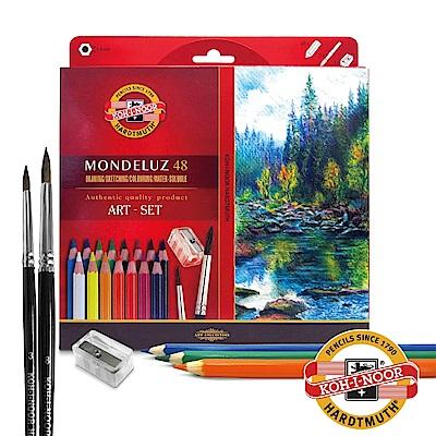 【KOH-I-NOOR】3713 捷克頂級專業水溶性色鉛筆(紙盒裝/48色)
