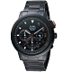 ALBA雅柏街頭潮流計時手錶(AT3F31X1)-黑鋼 product thumbnail 1