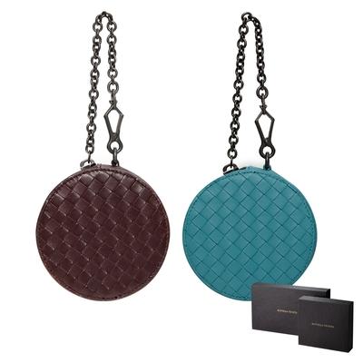 【Bottega Veneta】 BV 復古圓餅造型零錢包 /小鏈條包 /小手拿包 (多色任選)
