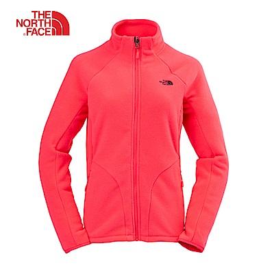 The North Face北面女款粉紅色抓絨外套|364K4CK