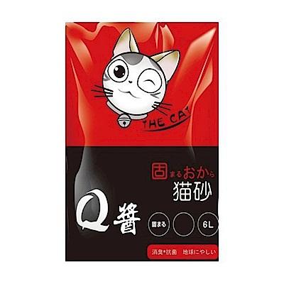 【Q醬】豆腐砂 6L(綠茶)X6包組