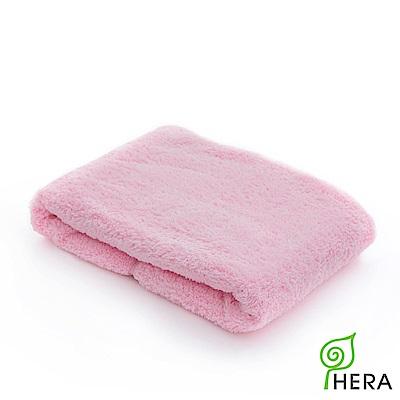 HERA 3M專利瞬吸快乾抗菌超柔纖小浴巾-櫻花粉