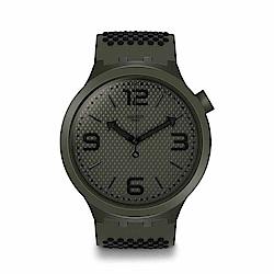 Swatch Big Bold 系列手錶 BBBUBBLES 軍綠 - 47mm