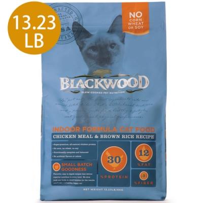Blackwood柏萊富-室內貓全齡優活配方(雞肉+糙米)13.23LB
