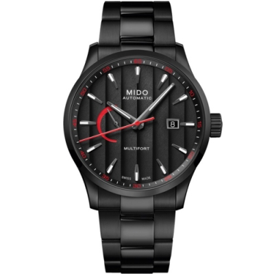 MIDO美度 先鋒Caliber 80動力儲存顯示機械男錶(M0384243305100)