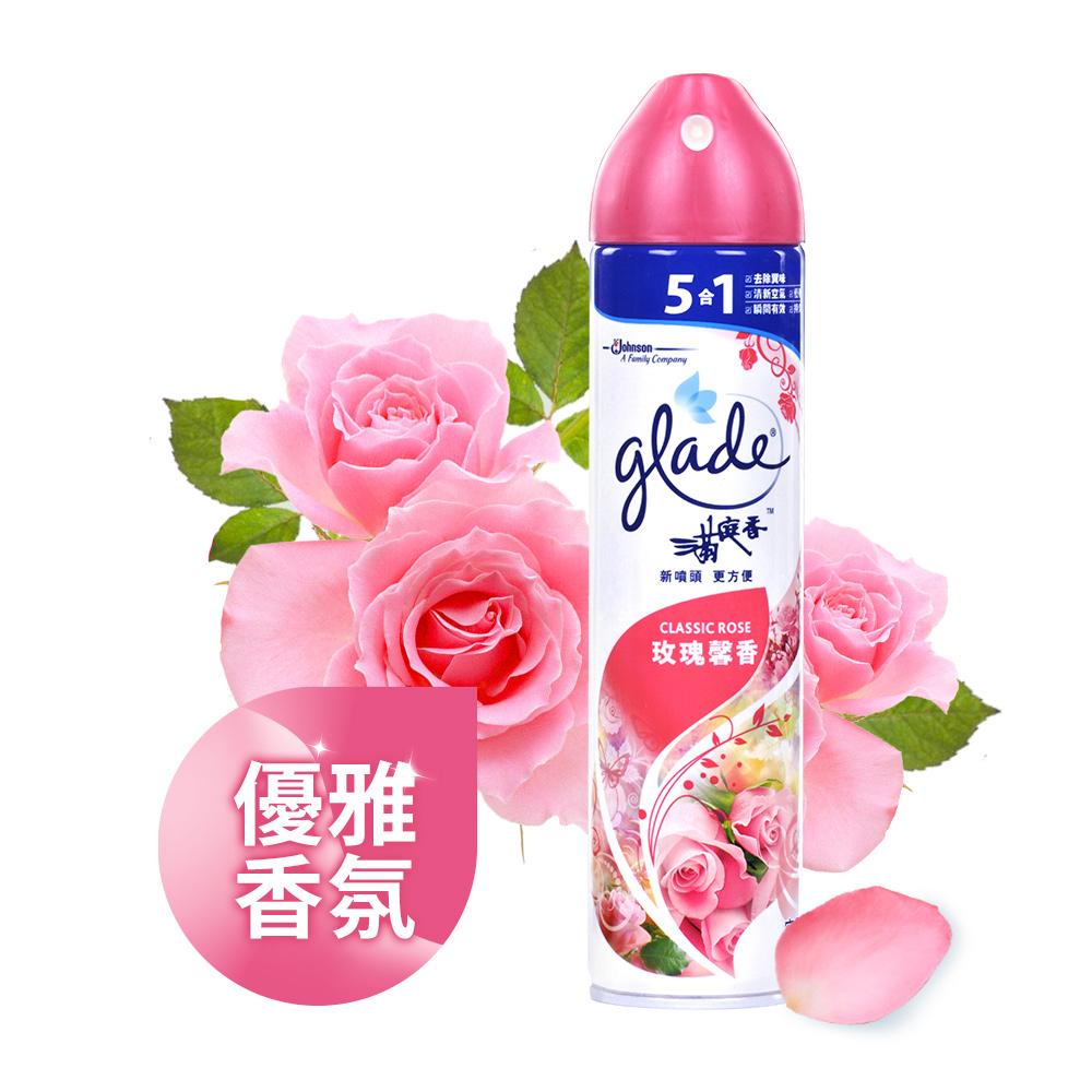 滿庭香 空氣清淨劑-玫瑰馨香320ml