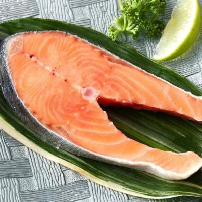 【上野物產】鮮美智利頂級鮭魚切片 x8片(250g土10%/片)