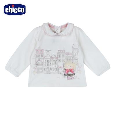 chicco-夢幻城市-有領長袖上衣