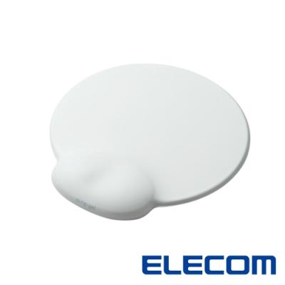 ELECOM dimp gel日本頂級舒壓鼠墊-白