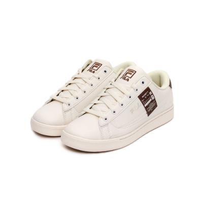 FILA COURT ACE 中性運動鞋-咖啡 4-C612U-166