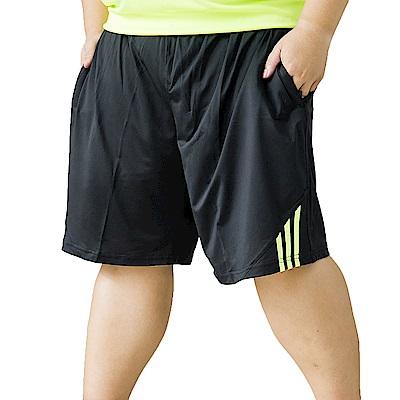 男人幫素面抽繩透氣涼爽機能短褲休閒短褲(K0604)
