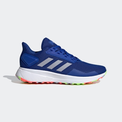 ADIDAS 慢跑鞋 訓練 運動鞋 童鞋 中童 藍 FV8824 DURAMO 9 SHOES
