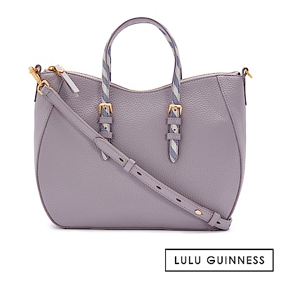 LULU GUINNESS JULIA 手提包 (紫)