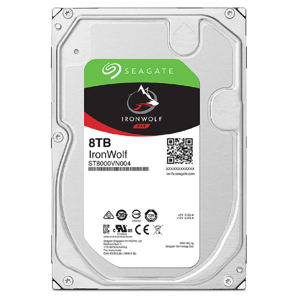 Seagate 那嘶狼 3.5吋 8TB NAS專用硬碟