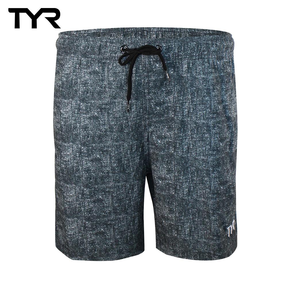 美國TYR 男款透氣慢跑短褲 Marl Shorts