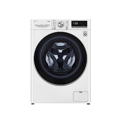 [館長推薦] LG樂金  10.5公斤 蒸洗脫 WiFi滾筒洗衣機 WD-S105VCW 典雅白