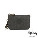 Kipling 復古質感丹寧黑三夾層配件包-CREATIVITY S