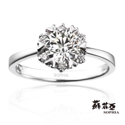 蘇菲亞 SOPHIA - 費洛拉1.00克拉FVS2鑽石戒指