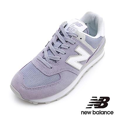 New Balance 574復刻鞋 女 粉紫 WL574ESV