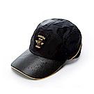 FILA KIDS時尚賽車帽-黑 HTS-8003-BK
